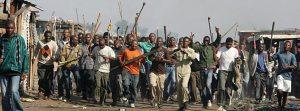 Sudafricanos xenófobos