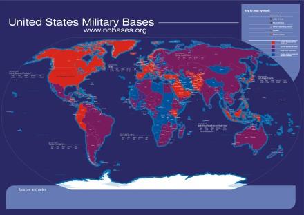 Bases militares de EE.UU. en el exterior
