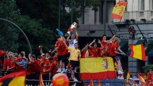 Euro 2008 - Equipo en el autobús
