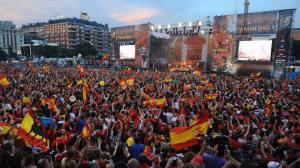 Euro 2008 - Plaza de Colón