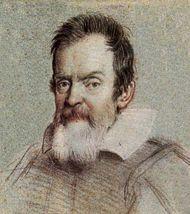 Galileo Galilei retratado por Leoni