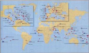 Mapa de paraísos fiscales