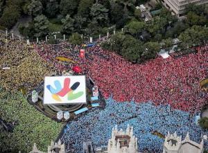 Manifestación por Madrid 2016