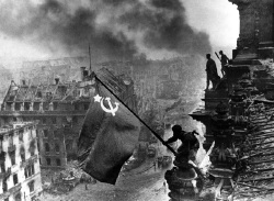 Red Army Flag over Reichstag